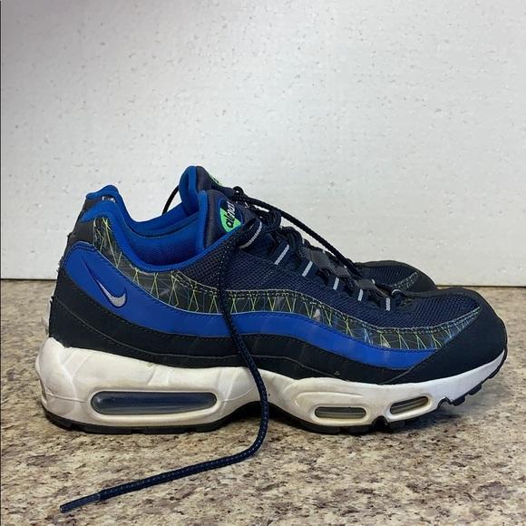 Nike Air Max 95 Premium Schuhe rot blau im WeAre Shop